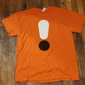 New Dunkin donuts orange legit lattes t shirt L